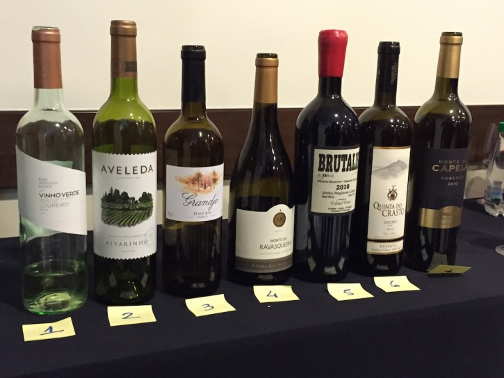 Degustação Vinhos de Portugal 2015