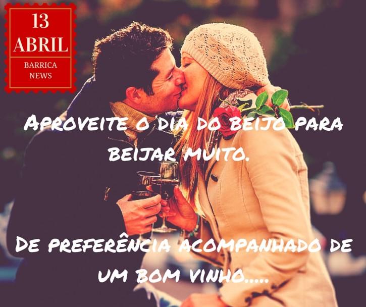 Dia do Beijo e Vinho