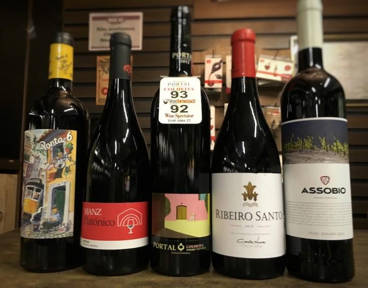 Vinhos Portugueses abaixo de R$ 100,00