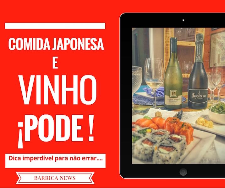 Comida Japonesa e Vinhos