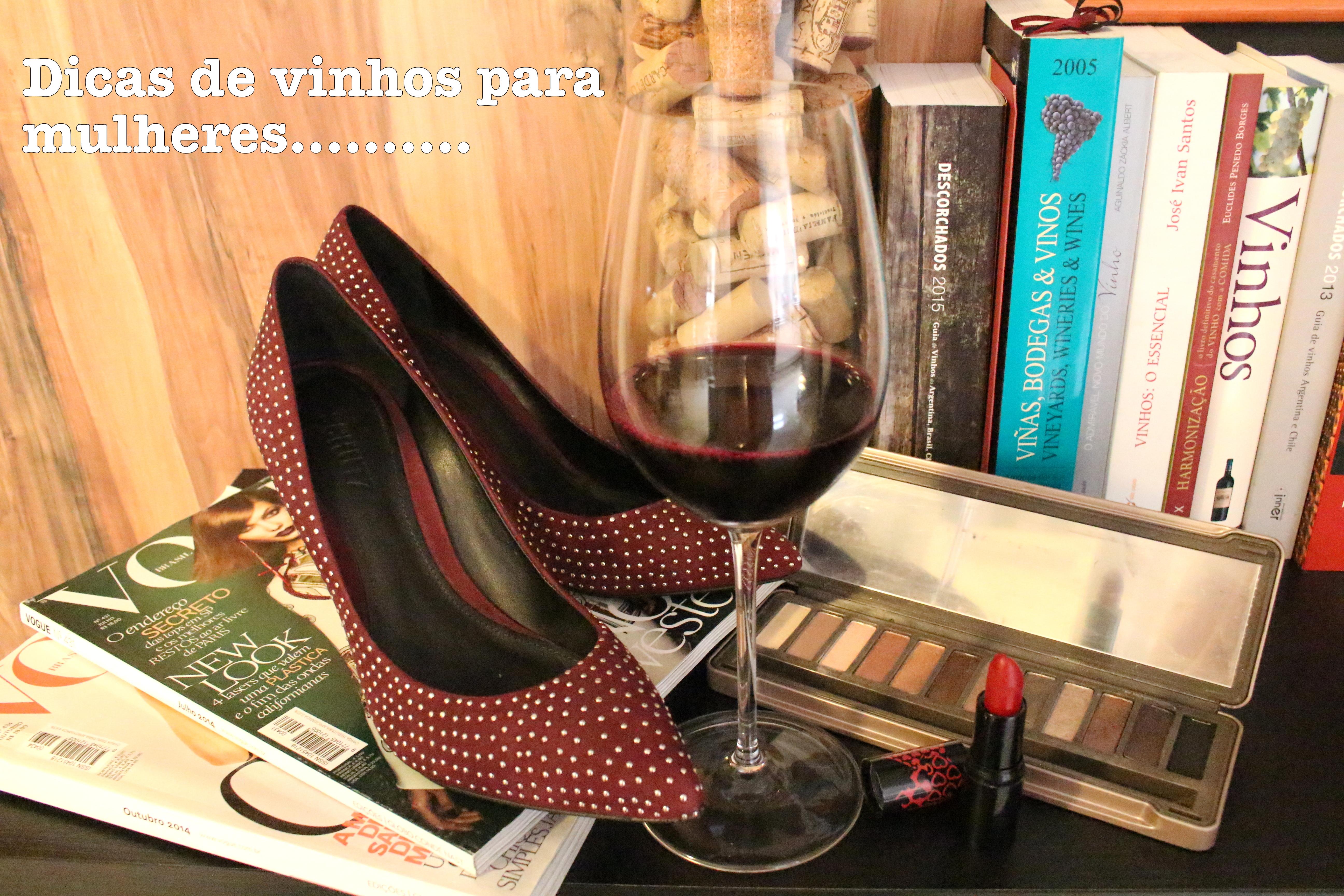 3 dicas de vinhos para mulheres